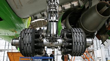 How do aircraft brakes work