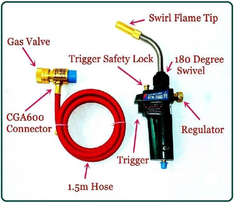 MAPP Gas Welding