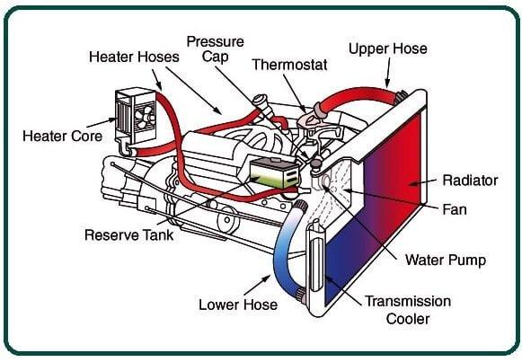 Parts of Radiator.