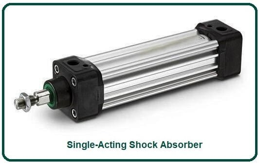 Single-Acting Shock Absorber.