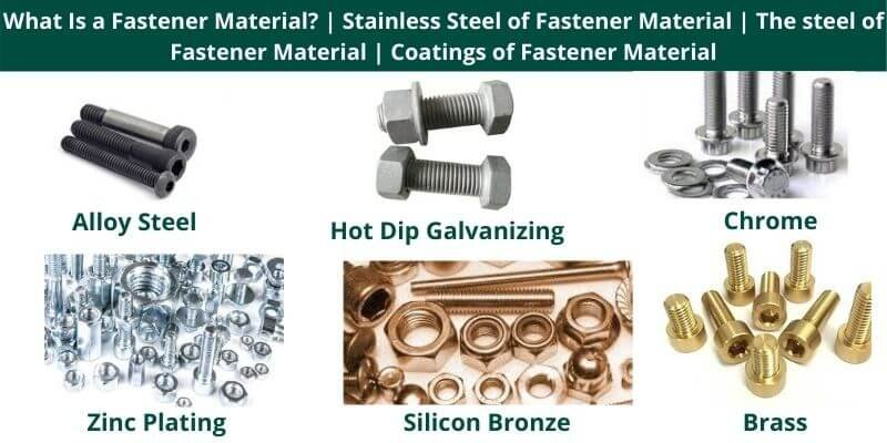 What Is a Fastener Material