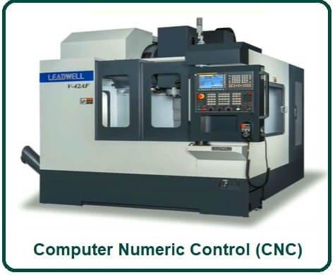 Computer Numeric Control (CNC)