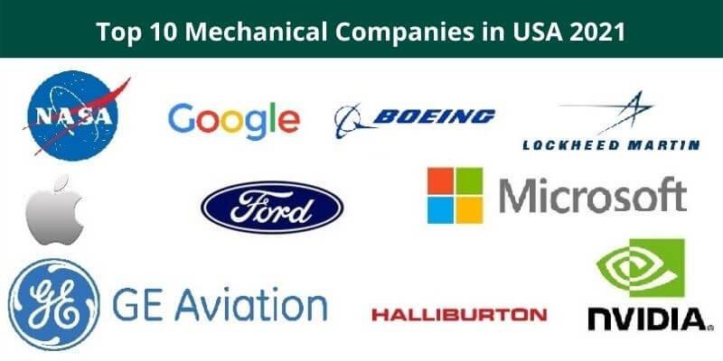 Top 10 Mechanical Companies in USA 2021