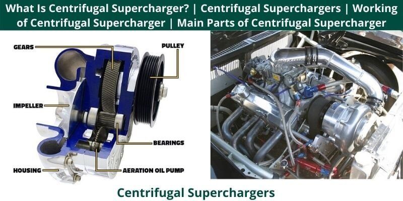 Centrifugal Superchargers