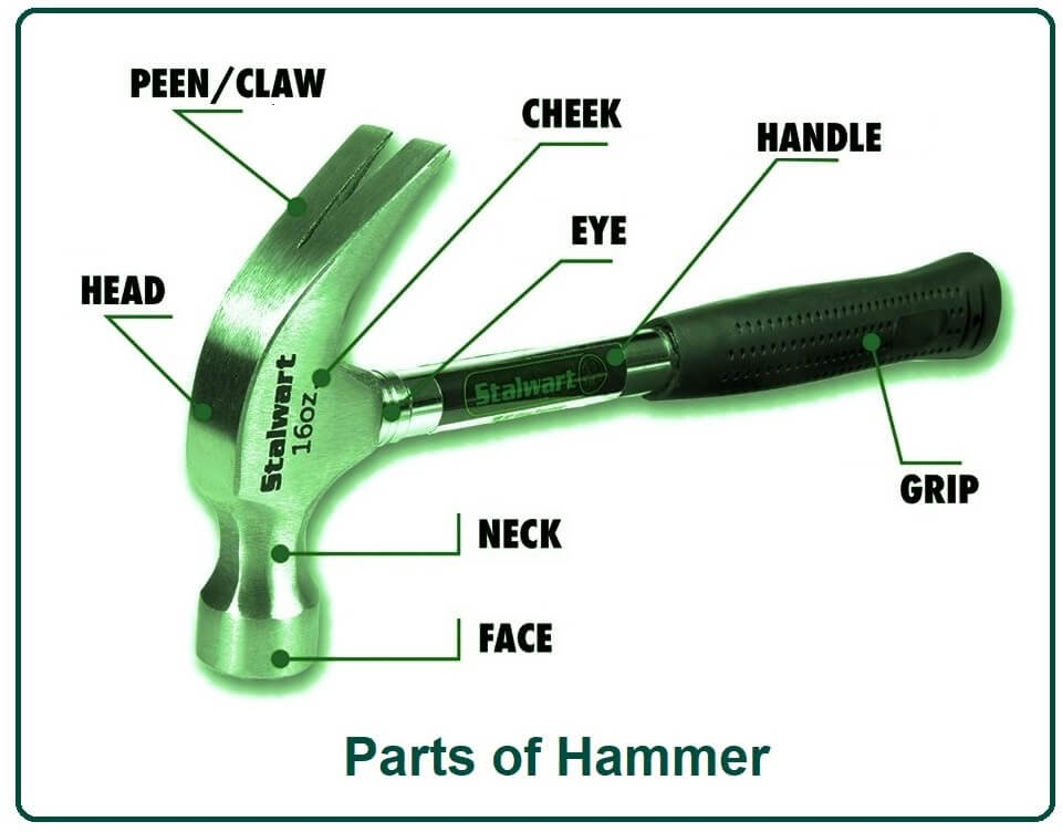 Parts of Hammer.