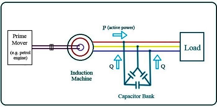 Self-Excited Induction Generator.