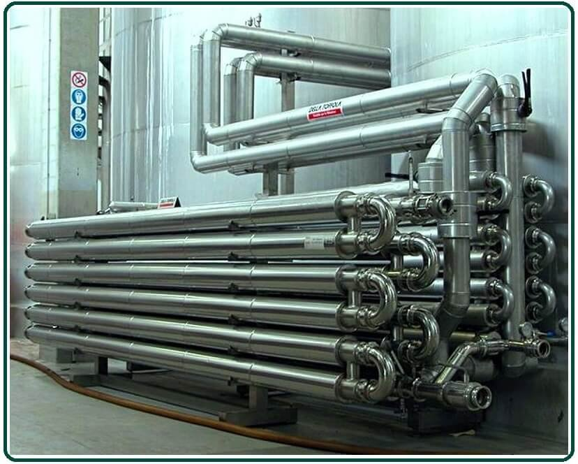 Types of Tube Heat Exchangers.