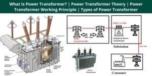 What Is Power Transformer Power Transformer Theory Power Transformer Working Principle Types of Power Transformer